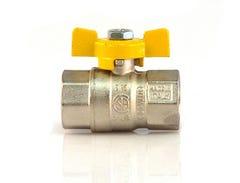 Robinet gaz fluture, racord 1, MM • Itap