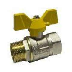 Robinet gaz fluture, racord 1, MF • Itap