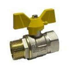 Robinet gaz fluture, racord 3/8, MF • Itap