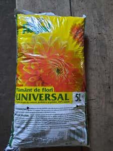 Pamant flori universal 5L • Florisol Product