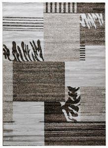 Covor living maro deschis, bumbac, 80 X150 cm • Estetik
