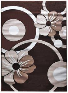 Covor living maro, bumbac, 80 X150 cm • Estetik