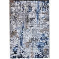 Covor living, albastru, 230 x 160 cm • Ametis Z359A