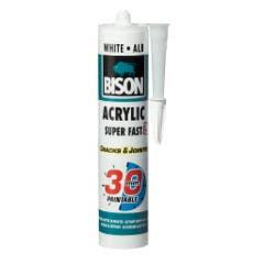Adeziv acrilic, alb, 300 ml • Bison Acrylic Ultra Rapid