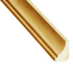 Coltar inferior din lemn, 21 x 32 mm, 2.4 m, pin