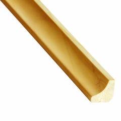 Coltar inferior din lemn, 23 x 23 mm, 2.4 m, pin