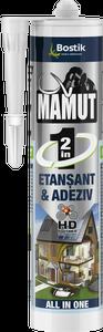 Adeziv 2in1 Mamut, negru, 290 ml • Bostik