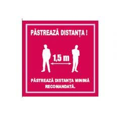 INDICATOR PASTREAZA DISTANTA 20CMX20CM