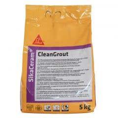 Chit de rosturi gresie/faianta, Dark Brown, 5 kg • Sika, SikaCeram CleanGrout