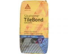 Adeziv standard interior, gresie/faianta si piatra naturala, 25 kg • Sika, SikaHome