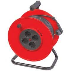 Prelungitor tambur Omnicable, 25 m, MYYM 3 x 2,5 mm
