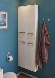 Dulap de perete, 600 x 900 x 150 mm, alb • GoodHome Ladoga