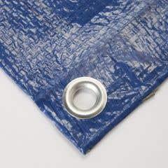 Prelata din polietilena, albastru, 400 x 500 cm