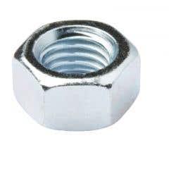 Piulita hexagonala din otel placat cu zinc M18, 10 bucati, DIALL