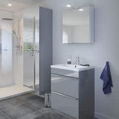 Dulap suspendat cu oglinda, 90 x 60 x 36 cm - Imandra
