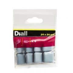 Patine adezive 24 x 24 mm, 8 bucati