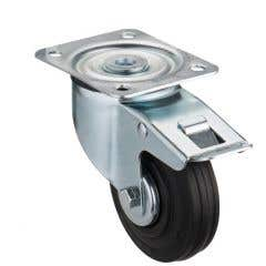 Rola cauciuc FR, 100 mm, sarcina maxima 75 kg_100569743