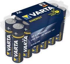 Set 12 baterii alcaline AA • Varta