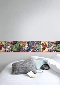 Bordura autoadeziva multicolora Braya, 14.5 cm x 5 m