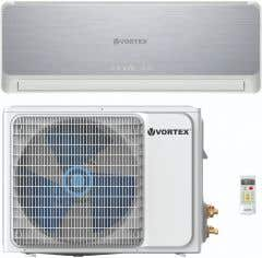 Aer conditionat fix, 9000 BTU, kit instalare inclus, Wi-FI • Vortex