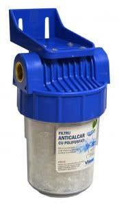 "Kit filtru anticalcar 5"" d3.4 polifosfati • Valrom Aquapur"