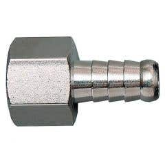 Adaptor din alama pentru furtun, diametru 8 mm, racord 1/4 tata