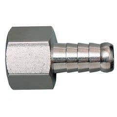 Adaptor din alama pentru furtun, diametru 10 mm, racord 3/8 tata