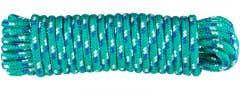 Cordelina PP, grosime 6 mm, lungime 10 m, verde multicolor • Evotools