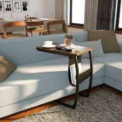 Masa laptop, 50 x 35 x 63.5 cm • Sofa