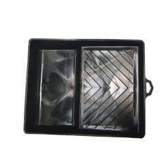 Tava pentru trafalet, 290 x 250 x 60 mm, material plastic, culoare negru