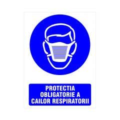 Indicator Protectia Obligatorie a Cailor Respiratorii • Creative Sign
