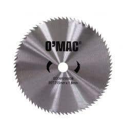 Disc arboret 80T 255mm x 1.8mm • O'Mac