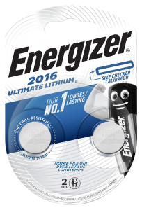 Baterie CR2016 2BUC • Energizer, Alkalina