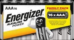 Baterii Alcaline BL 16 BC R03 • Energizer, Alkalina