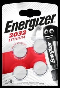 Baterii Litiu BL 4 BUC CR2032 • Energizer, Litiu