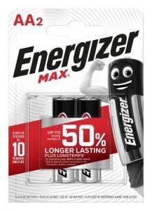 Baterie AA, 2BC • Energizer, Alkalina Max