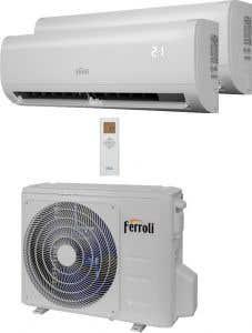 Aer conditionat multisplit, 9000 BTU •  Ferroli